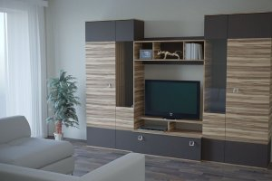 ТВ-стенка Кёльн - Мебельная фабрика «Миларум»