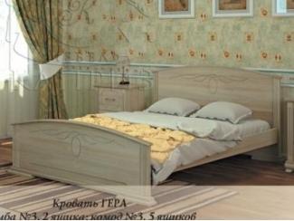 Кровать Гера - Мебельная фабрика «Каприз»
