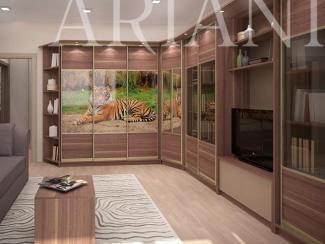 Шкаф-купе ДИ СОПРА Фотопечать - Мебельная фабрика «Ариани»