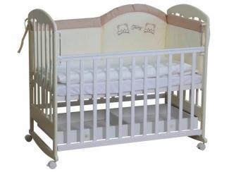 Детская кровать из массива 325 - Мебельная фабрика «Воткинская промышленная компания»