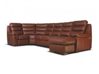 Коричневый диван Брайтон - Мебельная фабрика «Добрый стиль»