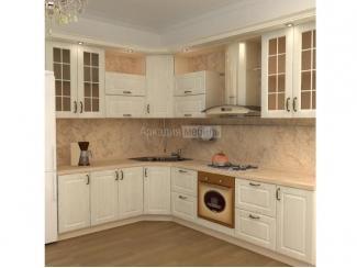 Белая кухня классика Европа 1 - Мебельная фабрика «Аркадия-Мебель»