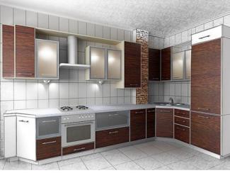 Кухня угловая большая - Мебельная фабрика «Династия»