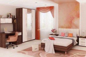 Спальный гарнитур Джулия 1 - Мебельная фабрика «Витра»