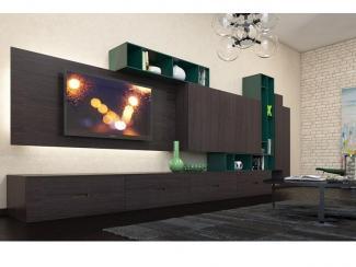 Гостиная стенка 035 - Мебельная фабрика «Mr.Doors»