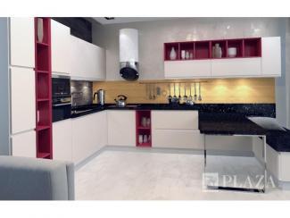Кухонный гарнитур угловой Чивителла - Мебельная фабрика «PlazaReal»