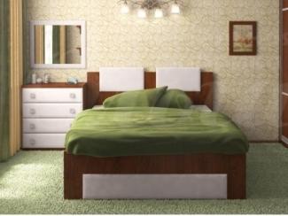 Простая спальня Волна