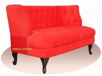 Изысканный прямой диван Erika - Мебельная фабрика «Мебель Заря»
