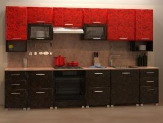 Вариант прямой кухни Светлана - Мебельная фабрика «Мебель Цивилизации»