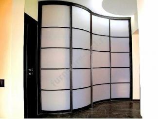Радиусный шкаф в прихожую  - Изготовление мебели на заказ «Игал»