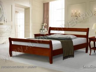 Кровать из дерева Эльба 1 - Мебельная фабрика «Альянс 21 век»