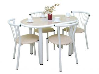 Стол обеденный Визит  круглый - Мебельная фабрика «Амис мебель»