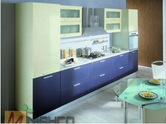 Прямой кухонный гарнитур Лион - Мебельная фабрика «Манго»