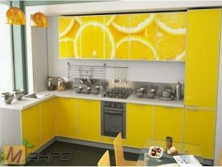 Угловая кухня Сочи с фотопечатью