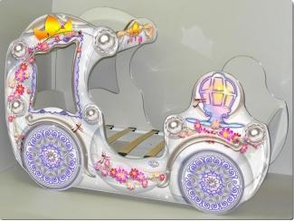 Кровать для девочек Карета VIP - Мебельная фабрика «ViVera»