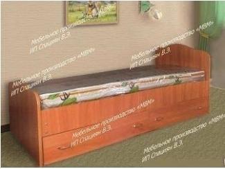 Кровать с 2 ящиками - Мебельная фабрика «МВМ», г. Волжск