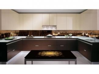 П-образный кухонный гарнитур Tess src 88 - Мебельная фабрика «Мебель России»