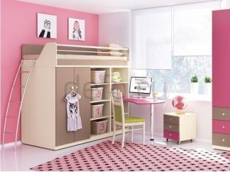 Детская Siluet / Силуэт - Мебельная фабрика «Дэфо»
