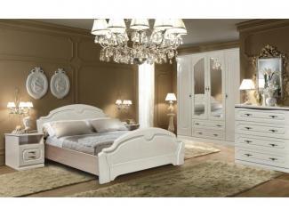 Белая спальня Нега 11 - Мебельная фабрика «Прогресс», г. Вологда