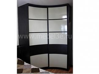 Угловой радиусный шкаф купе - Мебельная фабрика «ТРИ-е»