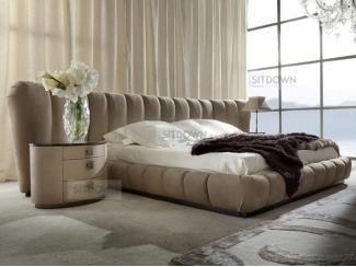 Кровать с широким изголовьем Тайм - Мебельная фабрика «Sitdown», г. Москва