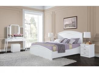 Белая спальня San Remo (Bianco) - Мебельная фабрика «Свобода»