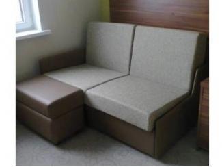 Диван прямой с пуфом - Мебельная фабрика «Софт»