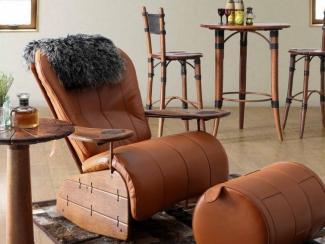 Кресло-качалка в охотничьем стиле - Импортёр мебели «Arredo Carisma (Австралия)»