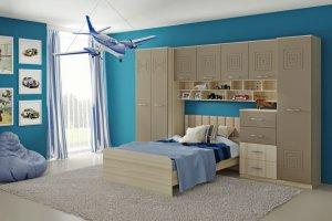 Мебель для детской Тандем - Мебельная фабрика «РОСТ», г. Бердск