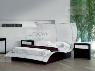 Кровать с изогнутым изголовьем Батерфлай - Мебельная фабрика «Sitdown»