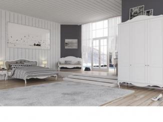 Спальня  Амели  в стиле Прованс - Мебельная фабрика «Lasort»