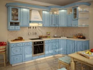 Кухня Лазурь массив - Мебельная фабрика «Гармония мебель»