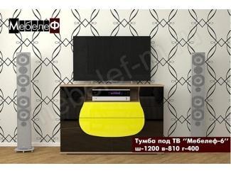 Тумба под ТВ Мебелеф-6 - Мебельная фабрика «МебелеФ»