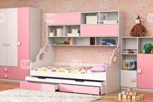 Кровать чердак Pinny Pink - Мебельная фабрика «ТомиНики»