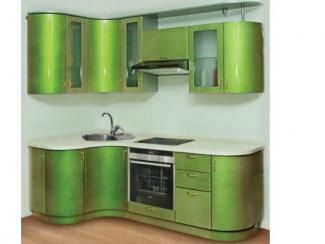 Кухонный гарнитур угловой Зеленый чай