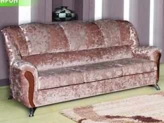 Диван прямой «Барон хром» - Мебельная фабрика «Палитра»