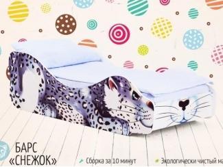 Кровать детская Барс Снежок - Мебельная фабрика «Бельмарко»