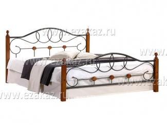Кровать двуспальная AT 822  - Мебельный магазин «Тэтчер»
