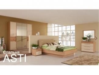 Спальня ASTI - Мебельная фабрика «Дятьково»