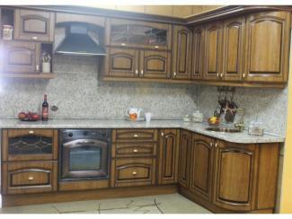 кухня угловая Сидак патина - Мебельная фабрика «Киржачская мебельная фабрика»