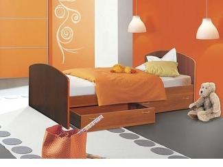 Кровать Односпальная с ящиками - Мебельная фабрика «Мебель Рай»