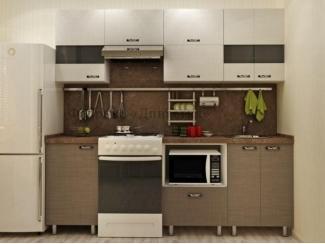 Небольшая кухня Мокко  - Мебельная фабрика «Династия»