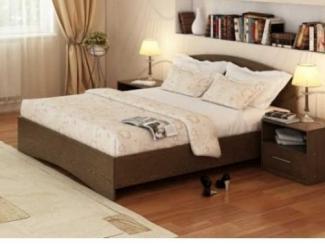 Простая кровать Простаил  - Мебельная фабрика «Интерьер»