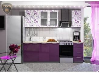 Кухня прямая Флора - Мебельная фабрика «ДСВ-Мебель»