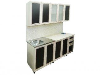 Прямая кухня с профилем - Салон мебели «РусьМебель»