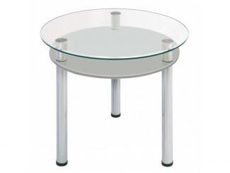 Стол стеклянный Серый муар - Мебельная фабрика «Мебель из стекла»