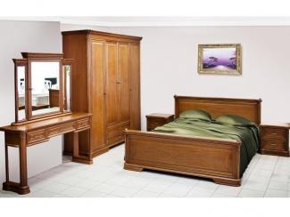 Спальный гарнитур «Гербера» (шпон) - Мебельная фабрика «Нижегородец»