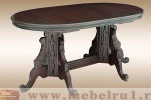Стол Овальный Старинный - Мебельная фабрика «Лидер Массив»