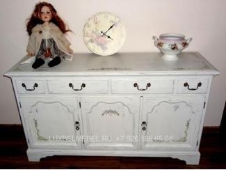 Белый комод в детскую 1531 - Мебельная фабрика «ЛюксБелМебель»