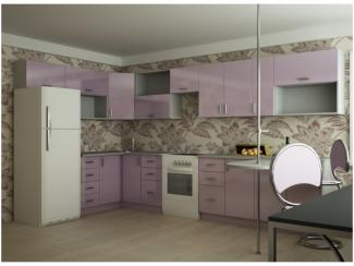 Кухня угловая Хэйли пластик - Мебельная фабрика «Вариант М»
